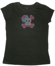 XL 12/14 Girl's Paul Frank Tee Shirt Julius Monkey Bling Short Sleeve T-Shirt