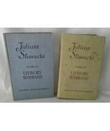 Poland Juliusz Stowacki Utwory Wybrane Songs Poems Poetry 1959 Polish Vo... - $39.59