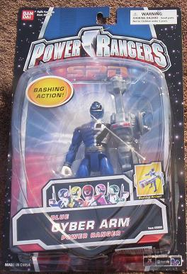 Power Rangers SPD Blue Cyber Arm Power Ranger Action Figure NEW in Package