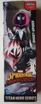 """Marvel Spiderman Maximum Venom Titan Hero Series Ghost Spider 12"""" Figure - $18.80"""