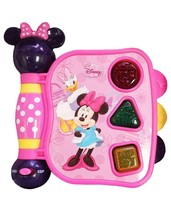 Disney Minnie Mouse My First Learning Book Sight Sound 12M+ Gift English... - $19.79