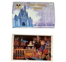 Disneyland & Walt Disney World Fold-Out Postcards 2 Sets It's A Small World - $32.55