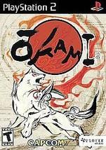 Okami (Sony PlayStation 2, 2006) PS2 - Complete w/ Box & Manual -  Very Nice! - $17.06