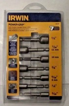 IRWIN 394100 Power-Grip Screw And Bolt Extractor Set 7-Piece USA - $15.84