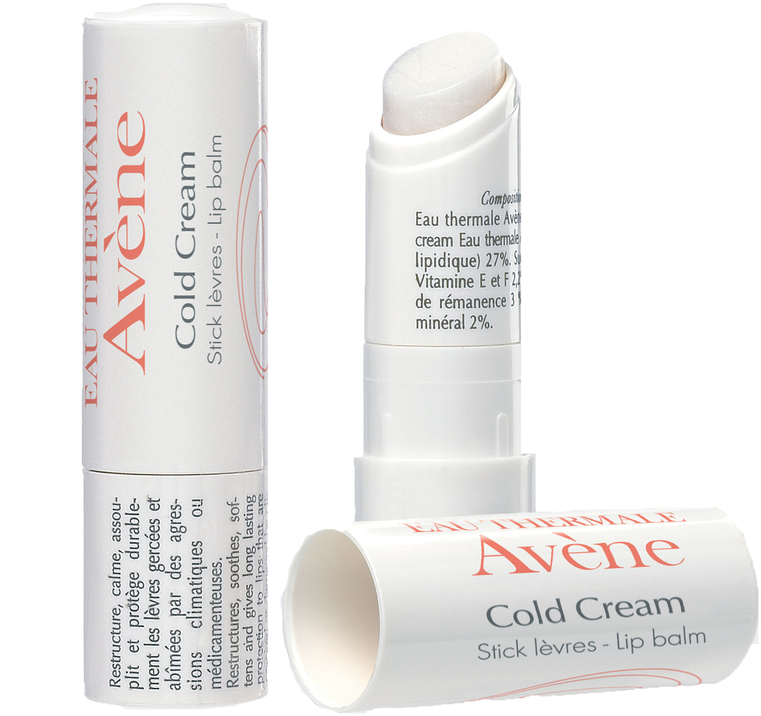 Avene Cold Cream Lip Balm Nourishes Cares For And Protects Your Lips 4g