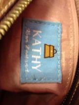 Kathy Van Zeeland Brown Studded Rhinestone Buckle Straps Faux Suede Two Keychain image 10