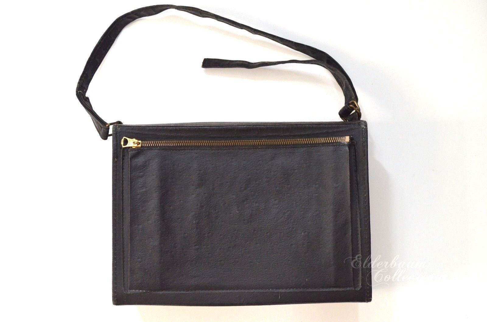 Tuck Tite Camera Bag Original 1940s 1950s Vintage Purse Brass NYNCO Zipper