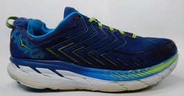Hoka One One Clifton 4 Men's Running Shoes Sz: US 14 M (D) EU 49 1/3 Blue Green