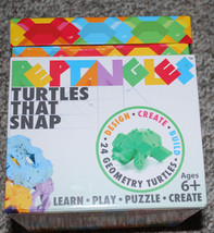 Reptangles Turtles That Snap Fat Brain Toy Co. Building Learning Puzzle ... - $34.60