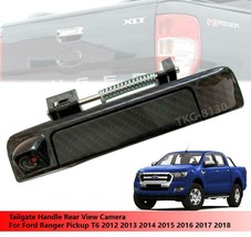 Carbon Tailgate Handle Rear View Camera For Ford Ranger T6 Pickup 2012 -... - $119.99