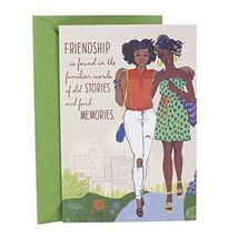 "Hallmark Mahogany Birthday Greeting Card ""Two Friends""......... - $18.31"