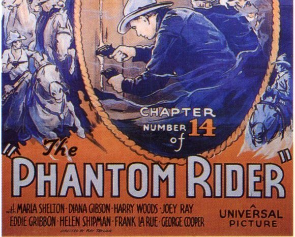 THE PHANTOM RIDER, 12 CHAPTER SERIAL, 1936