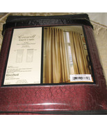 Croscill RIVERBED WINE BURGUNDY 1 LINED PANEL CURTAIN DRAPE WHITE LABEL ... - $79.97