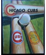 Chicago Cubs -Spring 1971 -Scottsdale, Arizona -Pre-Season MLB Baseball - $20.95