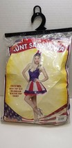 Aunt Samantha Costume 4th of July Fancy Dress fits sizes 4 to 10  - £31.31 GBP
