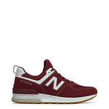 Zapatos New Balance Hombre MS574, Sneakers Rojo/Verde/Negro - $101.60