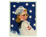 Bob daring sailor 1940 s patriotic pinup by victor tchetchet 40.00bonanza thumb155 crop