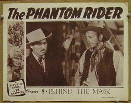 THE PHANTOM RIDER, 12 CHAPTER SERIAL, 1946 - $19.99
