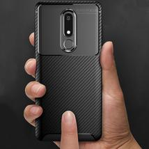 Luxury Carbon Fiber Phone Case on for Nokia 5.1 3.1 2.1 Shockproof Soft Silicone - $10.34