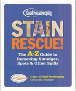 Stain Rescue!: The A-Z Guide to Removing Smudges, Spots & Other Spills [... - $45.95