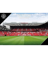 91507 MANCHESTER UNITED OLD TRAFFORD THE STADIUM Decor Wall Print POSTER - $5.95+