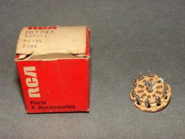 Rca Noval Tube Socket 105285 [w/ Box] Vintage! - $10.00