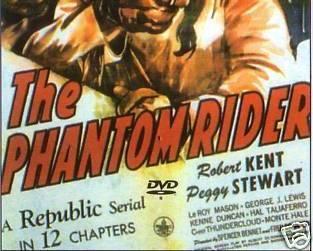 THE PHANTOM RIDER, 12 CHAPTER SERIAL, 1946