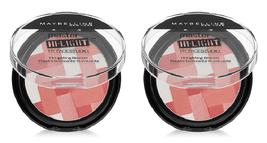 (2x) Maybelline Master Hi-Light Pressed Powder Blush #20 Pink Rose - $8.91