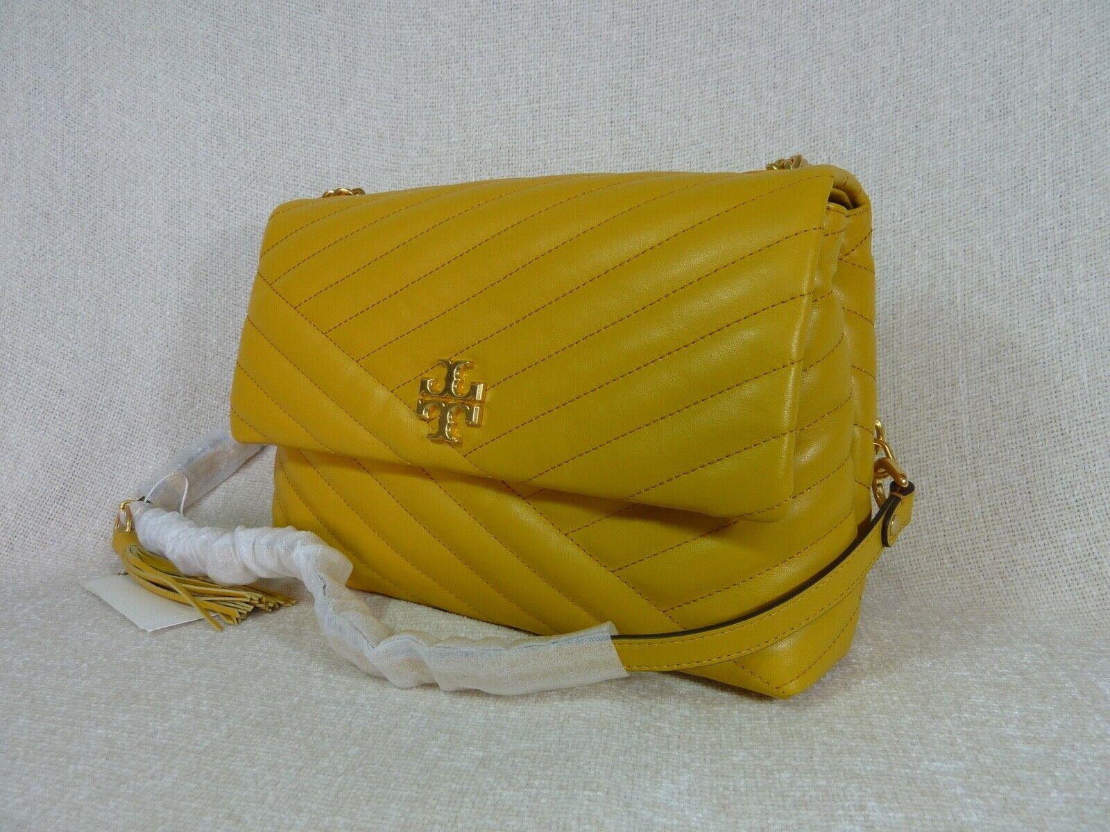 NWT Tory Burch Daylily Kira Chevron Flap Shoulder Bag $528 image 2