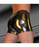 Thunderbox Metallic Spandex Choose COLOR & SIZE Hot Shorts - $23.00