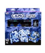 Tulip Tie Dye Camo Craft Kit, (Navy Blue, Royal Blue and Black), 40 Pieces - $18.95