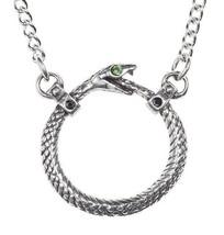 Sophia Serpent Ouroboros Infinity Snake Pendant Necklace Alchemy Gothic P853 NWT - $21.95