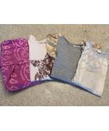 Girl's Lot Of 4 Crewcuts Short Sleeve & Sleeveless Tops (6-7) - $14.03