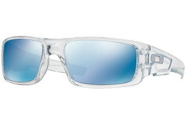 Oakley Crankshaft Sunglasses OO9239-04 Polished Clear Frame W/ Ice Iridi... - $54.04