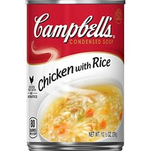 Campbell's Condensed Chicken with Rice Soup, 10.5 oz. Can - $10.61
