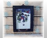 Stitched snowman window frame picture thumb155 crop