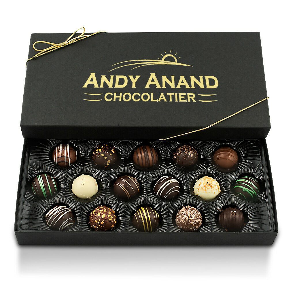 Andy Anand Delectable Variety of Handmade Artisan Truffles Free Air Shipping - $29.84 - $39.84