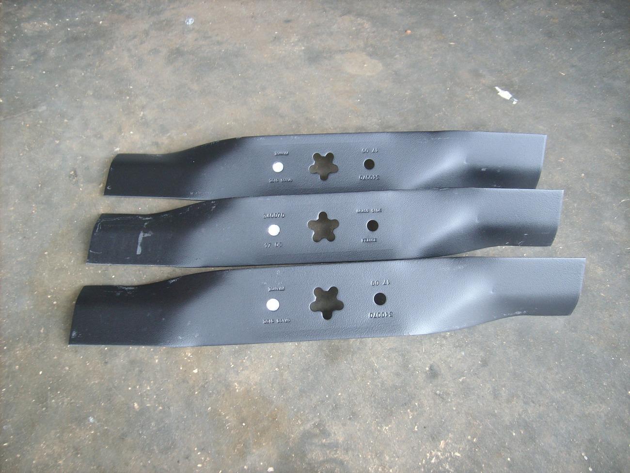 "Husqvarna 46"" cut hi lift blades 532 15 97-05"