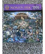 Master Pieces Noah's Ark Animals Boat 1000 Piece Jigsaw Puzzle Eric Dowd... - £21.10 GBP