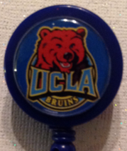 Ncaa Ucla Bruins Badge Reel Id Holder College Birthday Anniversary Blue New - $6.95
