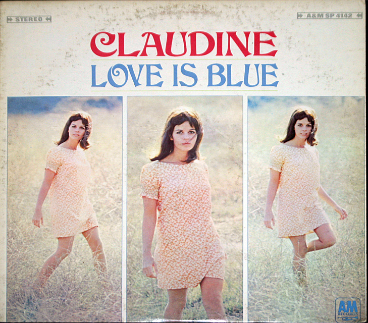 Claudine longet  love is blue   cover