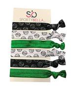 Volleyball Hair Accessories, Green Volleyball Hair Ties, No Crease Hair ... - $5.99