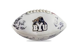 2010 Byu Cougars team signed football w/Certificate autographed (2) - $203.94