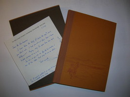 1988 T.E. Lawrence LETTERS TO E.T. LEEDS Wilson Whittington Press SIGNED... - $1,000.00