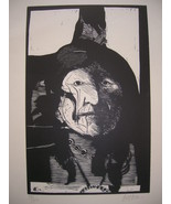LEONARD BASKIN 'CHIEF' signed numbered #39/100 ... - $399.99
