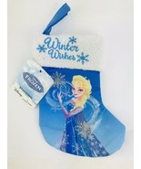 Disney Frozen Mini Stocking Elsa Christmas Hanging Stuffing Boot Holiday... - $8.50