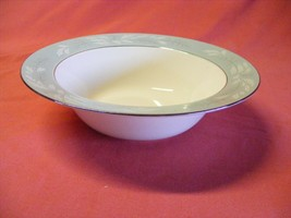 "Homer Laughlin Cavalier Romance 8 5/8"" Serving Bowl Aqua - $19.95"