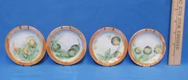 Vintage Set 4 Miniature Collectors Plate Seed Pods Flower Buds Rosenthal Bavaria - $24.74