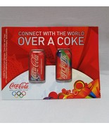 Coca Cola Coke Lapel Vintage 2008 Connect With World Olympic Pins Beijin... - $9.97