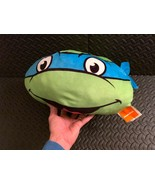 TMNT Leonardo Teenage Mutant Ninja Turtles Nickelodeon Plush Cushion Pil... - $35.63